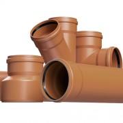 Трубы для наружной канализации и фитинги