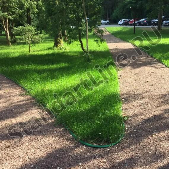 Бордюр Кантри зеленый – 1000.2.11-пластиковый L 10000  (арт. 82401-З)