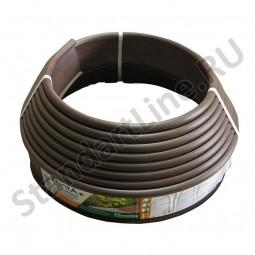 Бордюр KANTA SP Б-1000.10.02-ПП пластиковый коричневый 82552-К