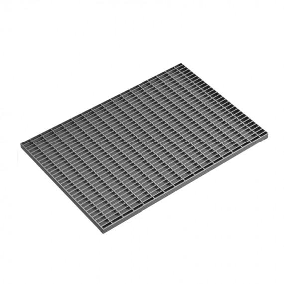 Стальная грязезащитная решетка 390х590 мм  (арт. 301)