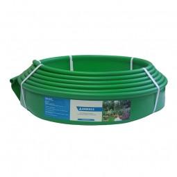 Бордюр Кантри MINI зеленый – 1000.1,5.8 - пластиковый L10000 мм, H80 мм