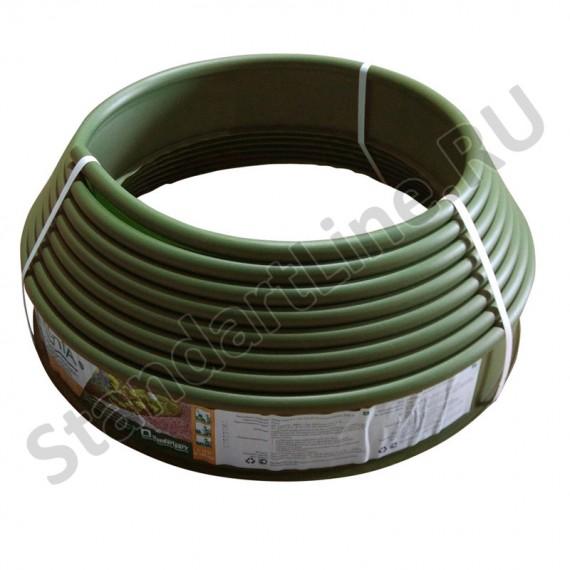 Бордюр KANTA SP Б-1000.10.02-ПП пластиковый оливковый 82552-Ол  (арт. 82552-Ол)