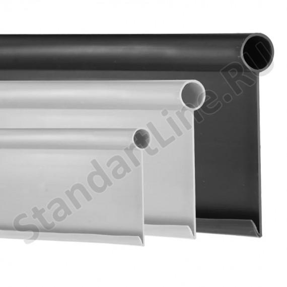 Бордюр Кантри MAXI черный – 1000.2,3.14 - пластиковый L 10000  (арт. 82402-Ч)