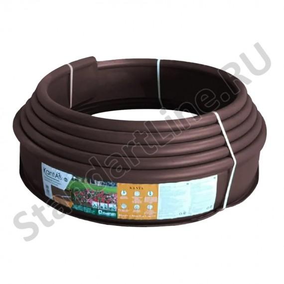 Бордюр Канта PRO пластиковый коричневый 82544-К  (арт. 82544-К)