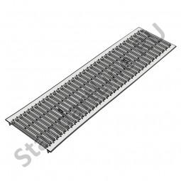 Решетка водоприемная РВ -20.23,6.100 - штампованная стальная оцинкованная кл. А