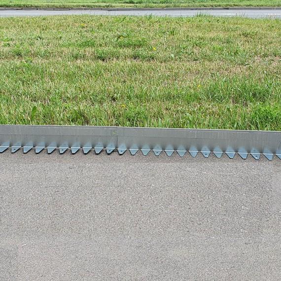 Бордюр стальной тротуарный