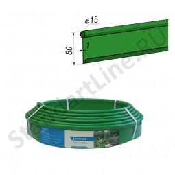Бордюр Кантри MINI зеленый – 1000.1,5.8 - пластиковый L 10000