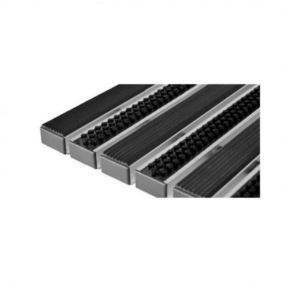 Придверная решетка Степ Бруш+Резина, A15  (арт. 30013)
