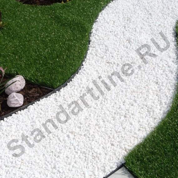 бордюр ландшафтный пластиковый, высота 60 мм