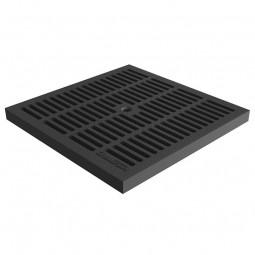 Решетка водоприемная PolyMax Basic РВ-28.28-ПП пластиковая ячеистая кл.А