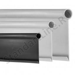 Бордюр Кантри MINI черный – 1000.2.14 - пластиковый L 10000