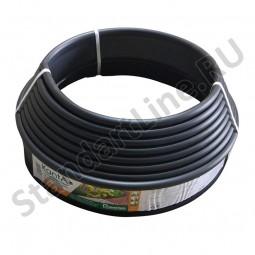 Бордюр KANTA SP Б-1000.10.02-ПП пластиковый черный 82552-Ч