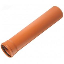 Труба для наружной канализации 110х1000 мм