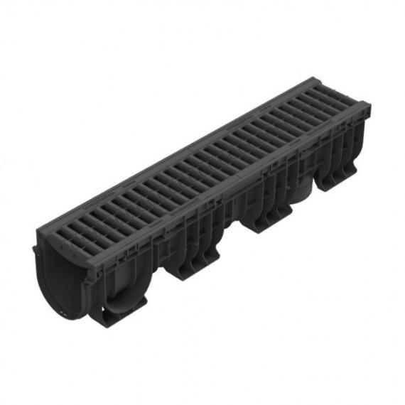 Лоток водоотводный PolyMax Basic ЛВ-15.21.22-ПП c РВ яч. ПП кл.А (к-т) 0824081