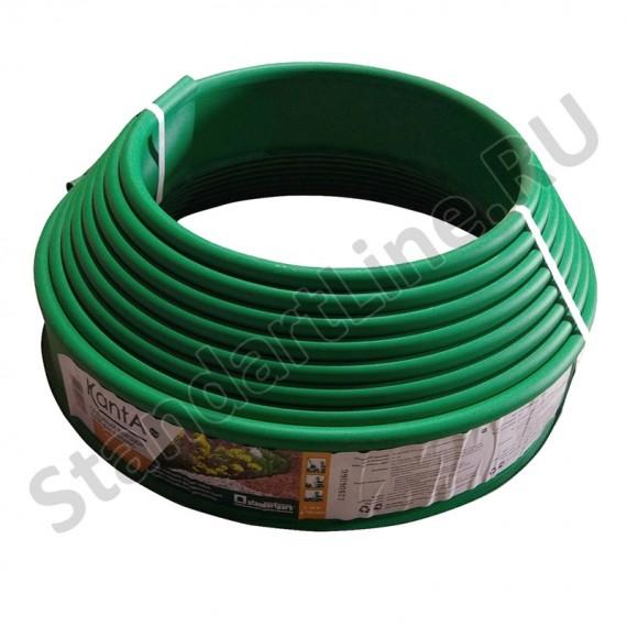 Бордюр KANTA SP Б-1000.10.02-ПП пластиковый зеленый 82552-З  (арт. 82552-З)