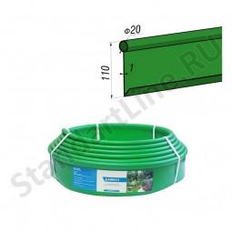 Бордюр Кантри зеленый – 1000.2.11-пластиковый L 10000